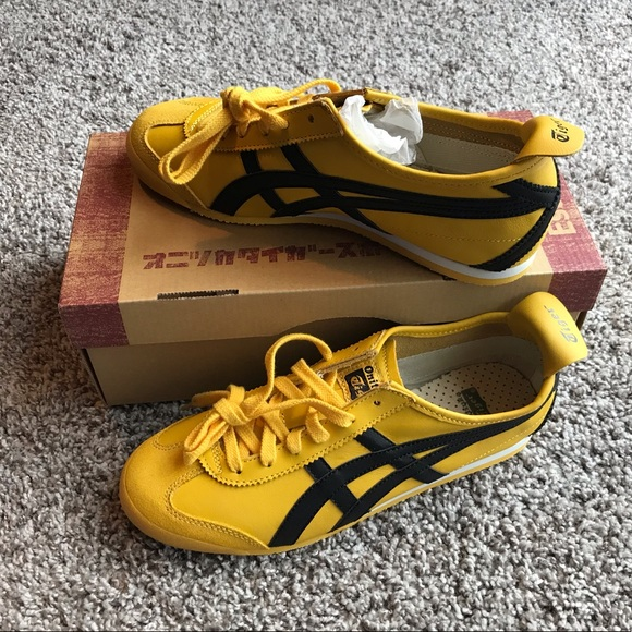 lowest price cce9b ae11f Yellow black - Onitsuka Mexico 66 size 7 Men NWT